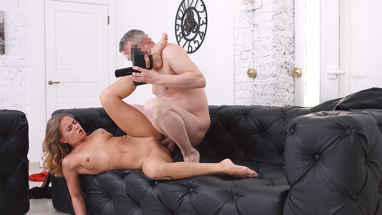 Perky Porno Casting First-timer